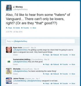 vanguard haters