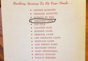 vintage banking services