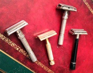 vintage gilette razors