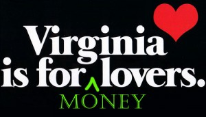 virginia is for money lovers