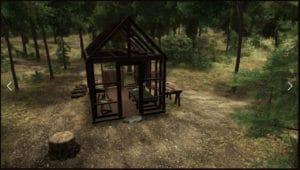 walden game cabin