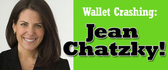 wallet crashing - Jean Chatzky