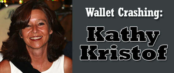 wallet crashing - kathy kristof