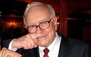 warren buffett mustache