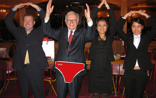 warren buffett sexy speedo