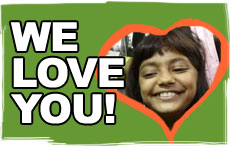 We love you Rubina!