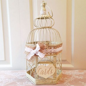 wedding birdcage cards