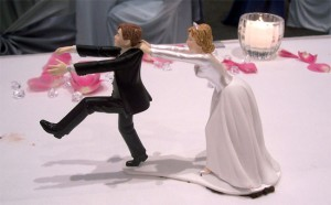 wedding cake topper funny