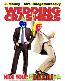 j. and the mrs. are wedding crashers