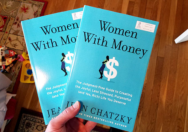 women with money - book