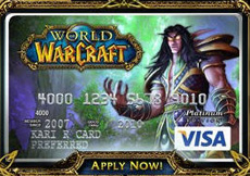 world of warcraft credit card