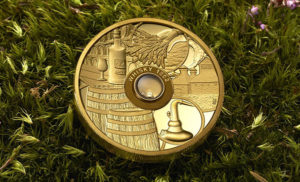 worlds first whisky coin