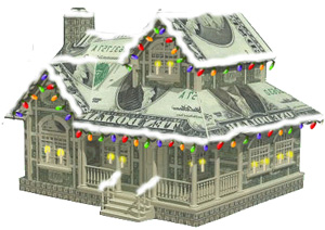 christmas dollar house