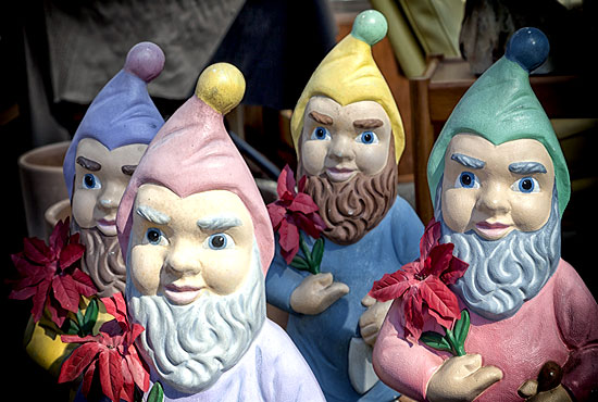 yard sale gnomes