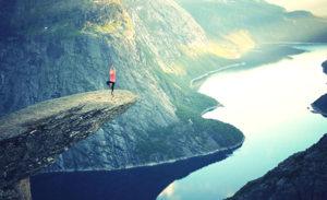 yoga pose mountains