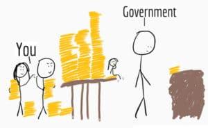 taxes cartoon